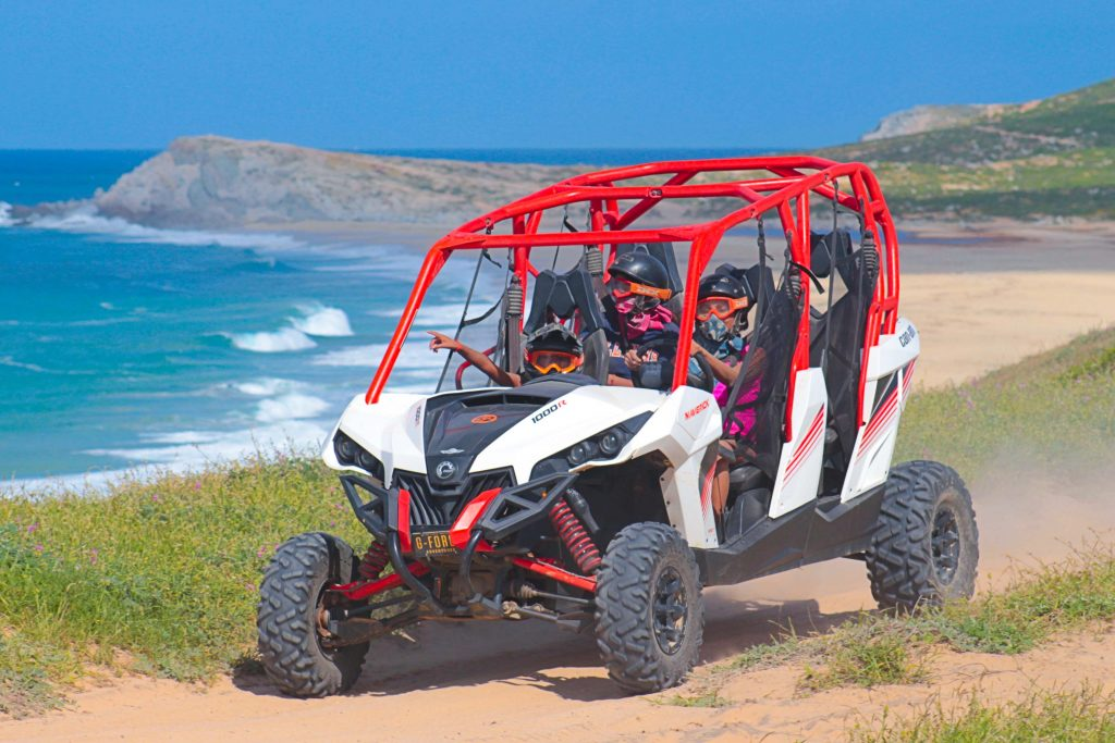 Cabo beach and Desert UTV