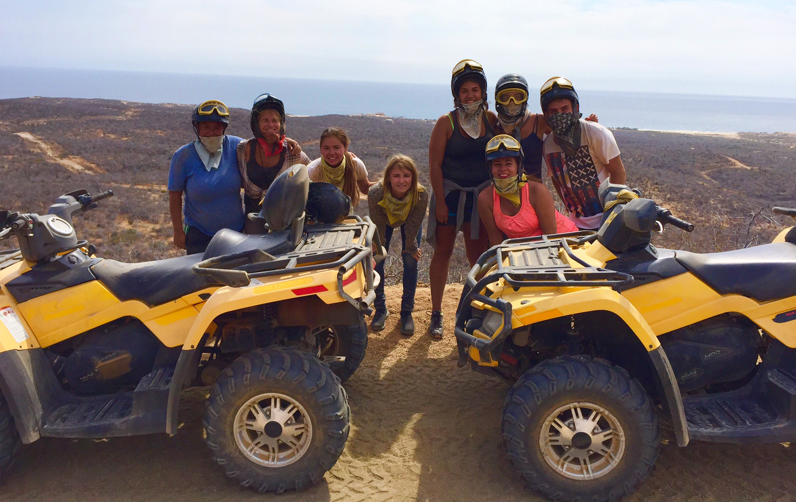 Cabo Cruise Excursions atv offroad tour