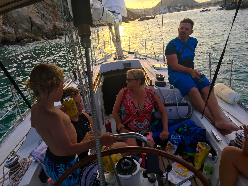 Private Sailing in Cabo San lucas