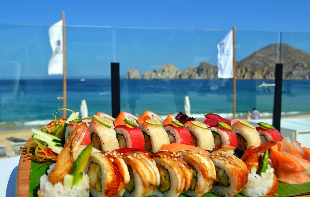 Cabo Resort Day pass food